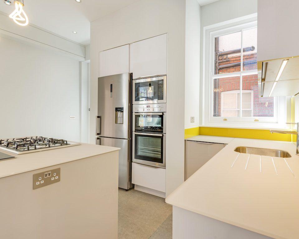 Kitchen planning, fitting