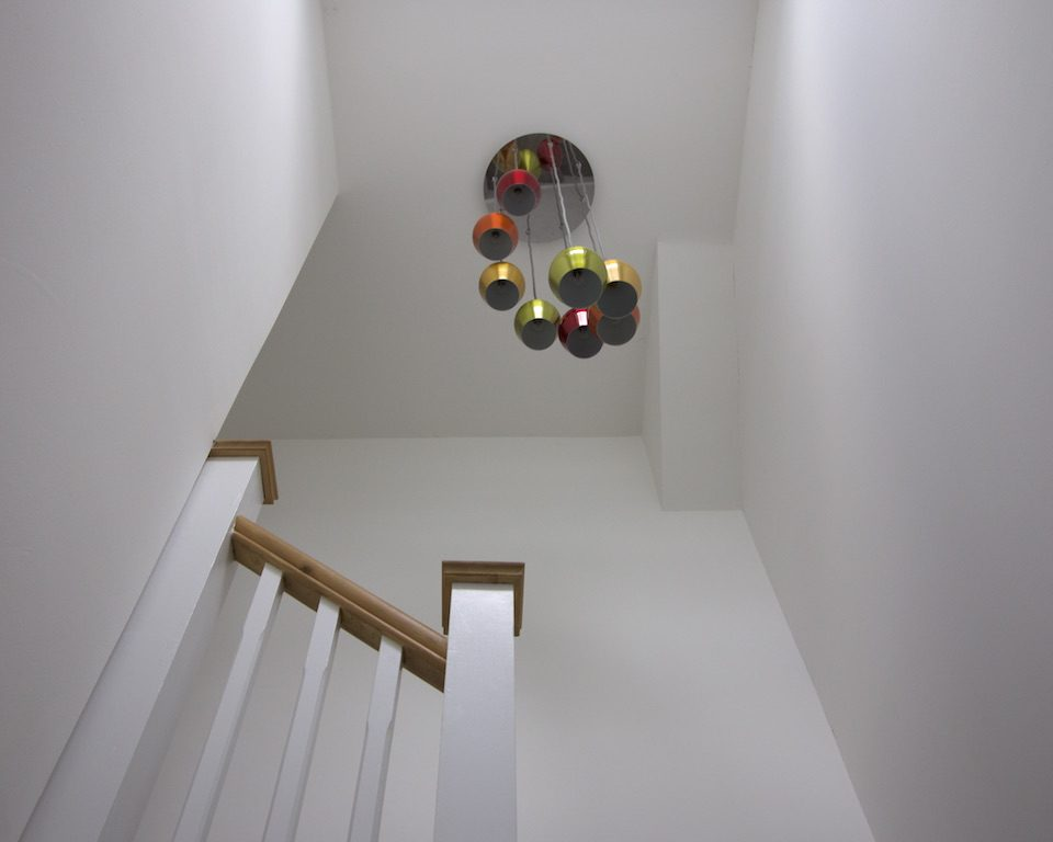 Loft conversion, staircase