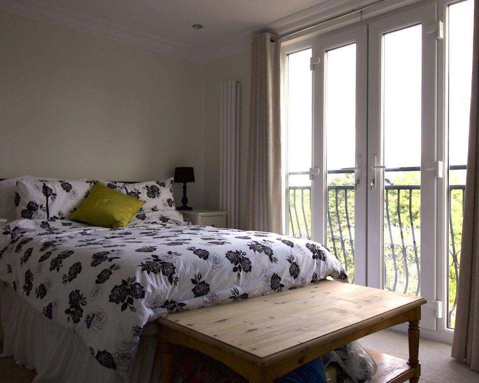 Loft conversion, dormer, Juliette balcony