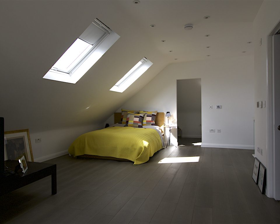 Large loft conversion, additional space, ensuite, roof work,