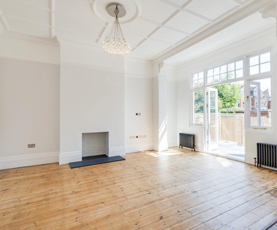Edwardian refurbishment, restoration of ceilings,